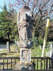 馬頭観音石像 (2)