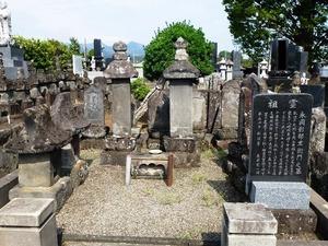 永岡形部左衛門の墓 (1)