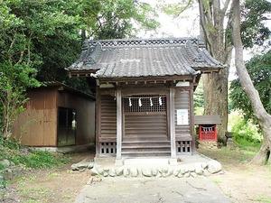 根小屋・鹿島神社 (4)