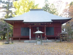 長楽寺・三仏堂