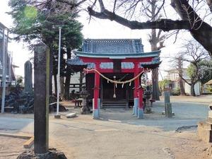 戸谷塚諏訪神社 (1)