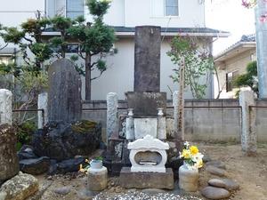 小栗又一の墓 (3)