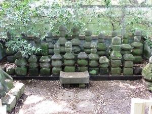 館林城出土墓石群 (2)