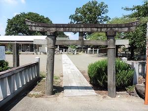 八木原諏訪神社 (1)