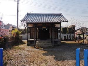 大和神社・行者堂 (1)