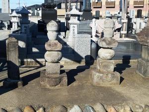 跡部家累代の墓 (2)