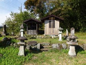 伝真田熊之助の墓 (4)