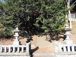 萩生浅間神社 (1)