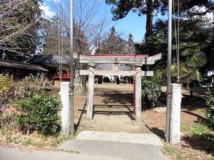 下栗須稲荷神社 (1)