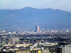 高崎市役所からの風景 (2)