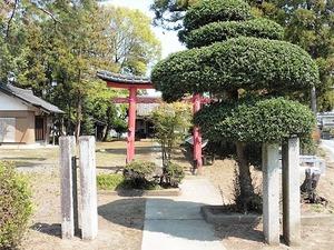 寄木戸長良神社 (1)