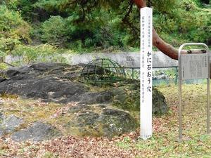 かに石の甌穴 (1)