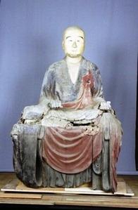 栄朝禅師像