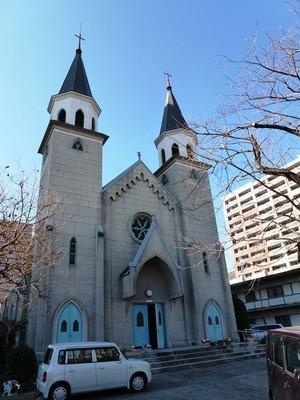 前橋カトリック教会 (1)