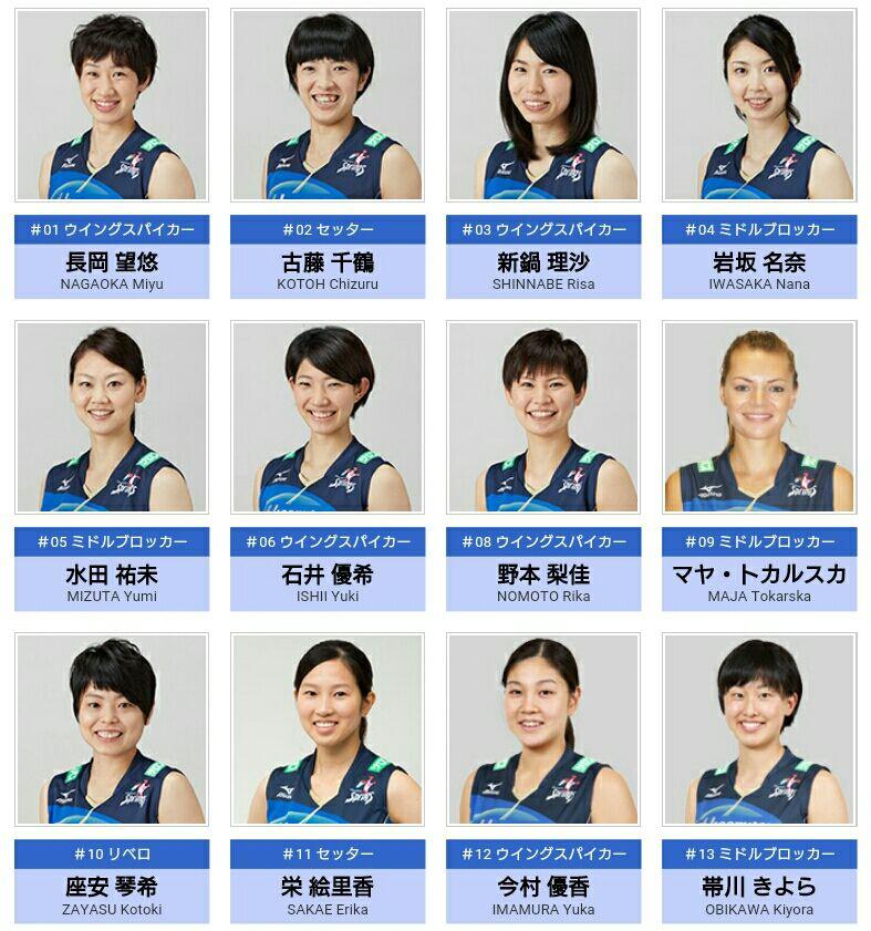 2016年08月 : 全日本女子バレー...