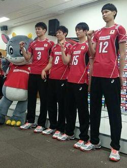 ワールドカップバレー2015男子の日本戦の放送日はいつ?