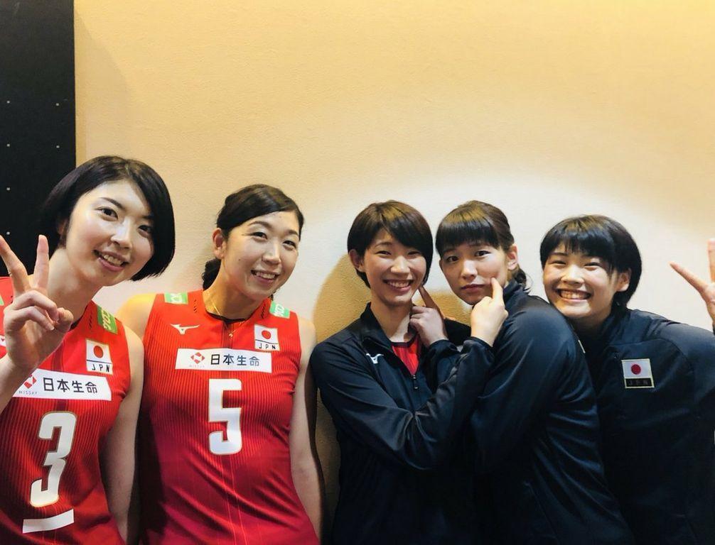全日本な日々 149 ニックネームとエース : 全日本女子バレーボールの ...