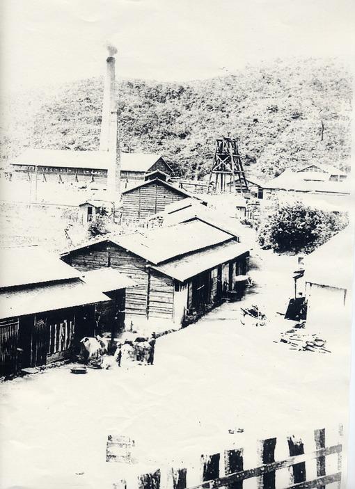 ①-2目尾炭坑竪坑櫓