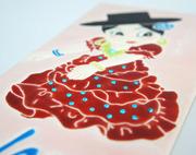 Flamenco Tile Handmade