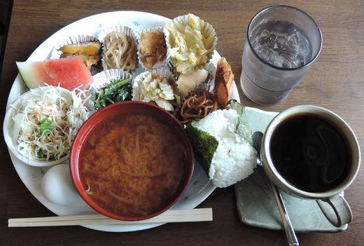 岐阜のおトクなモーニング:喫茶 花々(はなはな) @山県市