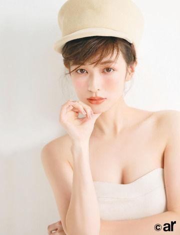 【画像】「なりたい顔NO1」森絵梨佳のマシュマロ肌の秘訣