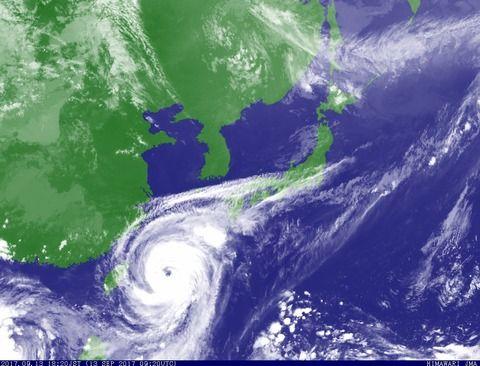 【朗報】台風18号さん、ガチでヤバい