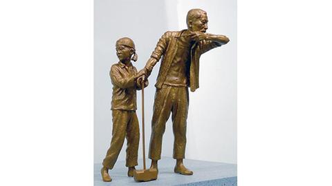 韓国製の新型反日像が『色々な意味で胡散臭いデザイン』で日本側ドン引き。日本人に無知を悟らせるのだ
