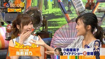 【悲報】指原莉乃が小島瑠璃子に容姿、コメント力、好感度で完全敗北する