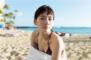 綾瀬はるか、ハワイで美バストちらり