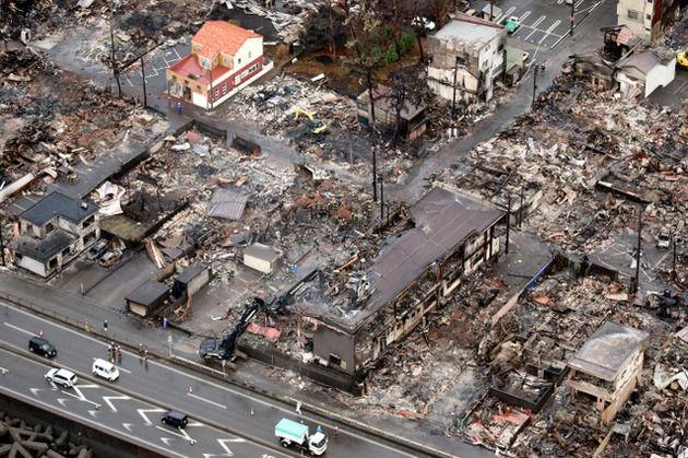 【画像】糸魚川大火事で生き残った「奇跡の家」wwwww