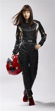 山本美月が世界に一つだけのレーシングスーツを着た結果wwwwww