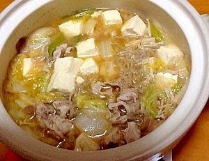 白菜と豚肉と水を鍋にぶち込んで煮込むだけの神料理wwww