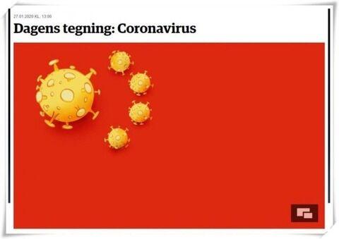 デンマーク紙が武漢肺炎を揶揄する風刺画を掲載して中国激怒 謝罪要求するもガン拒否される