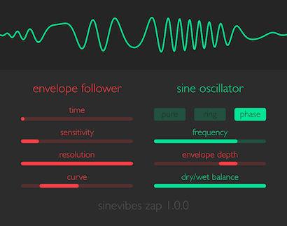 鍵盤が無くても演奏できる無料のシンセサイザー『Zap』(Mac,AU用)
