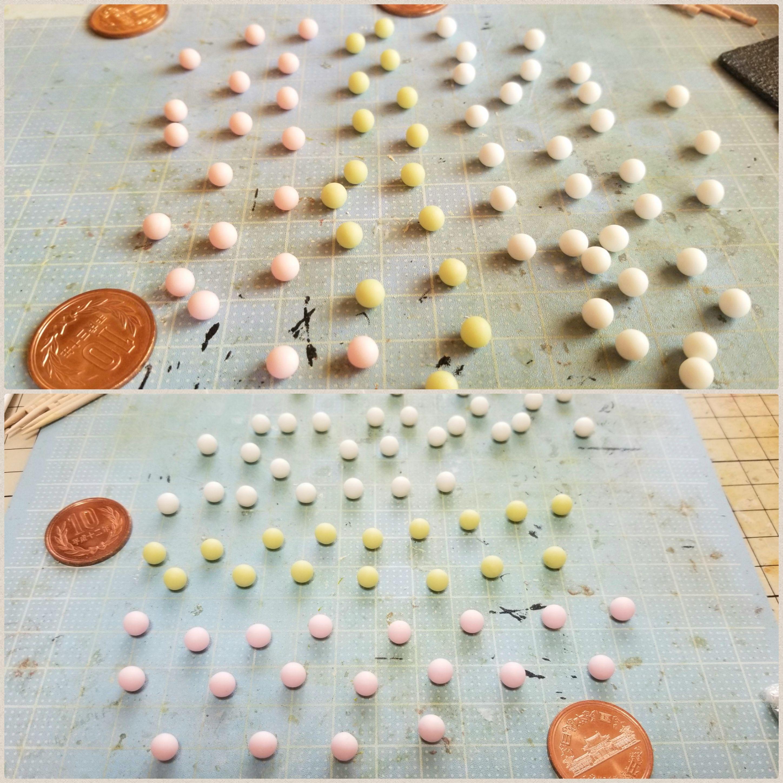 ミニチュアフード和菓子お団子の作り方樹脂粘土ブログおすすめ人気