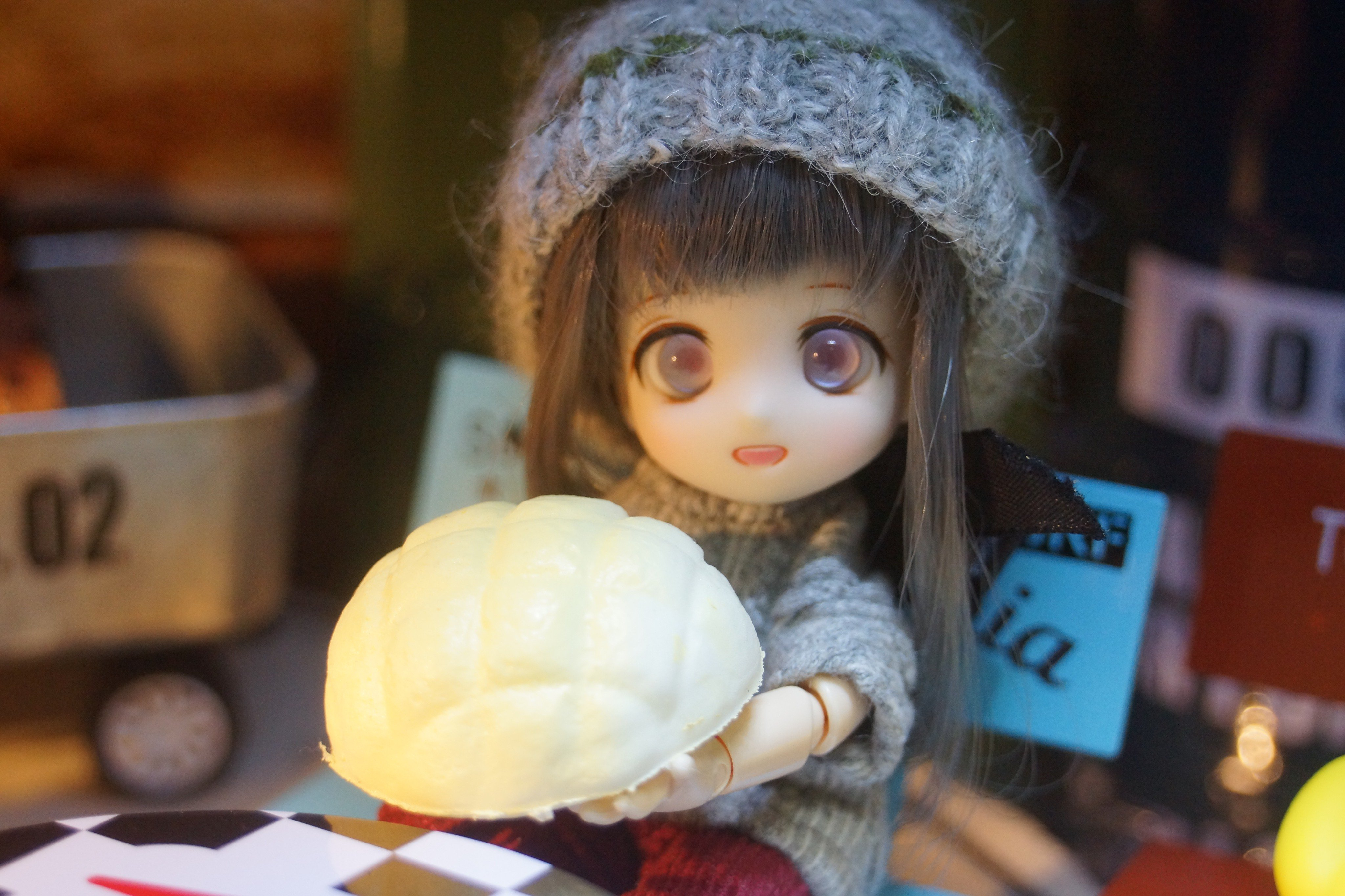 可愛いあまむす楪,ミニスウィーツドール,お茶目なドール,キュート