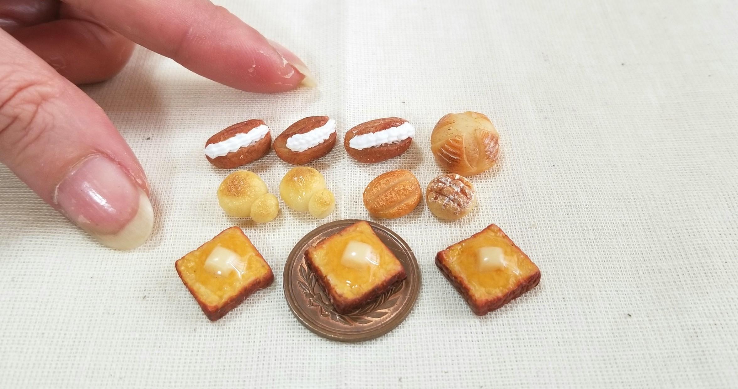 訳あり商品,SALE,パン,値引き,ミニチュアフード,ミンネで販売中