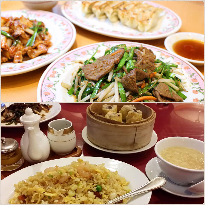 外食,美味しい,中華料理,レバニラ炒め,チャーハン,焼き飯,餃子,焼売