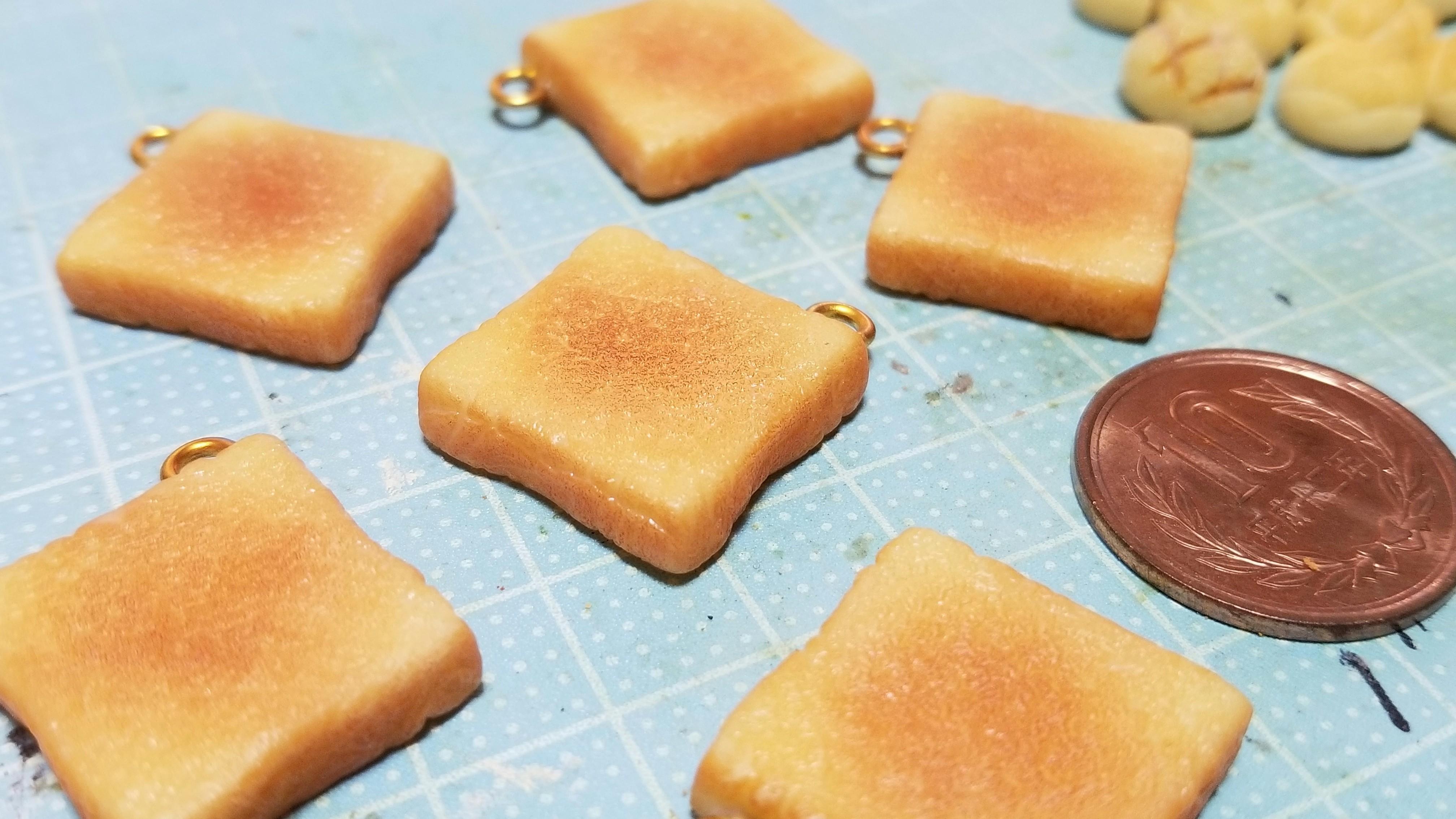 ミニチュアフード食パントースト美味しいそうな人気おすすめ手作り