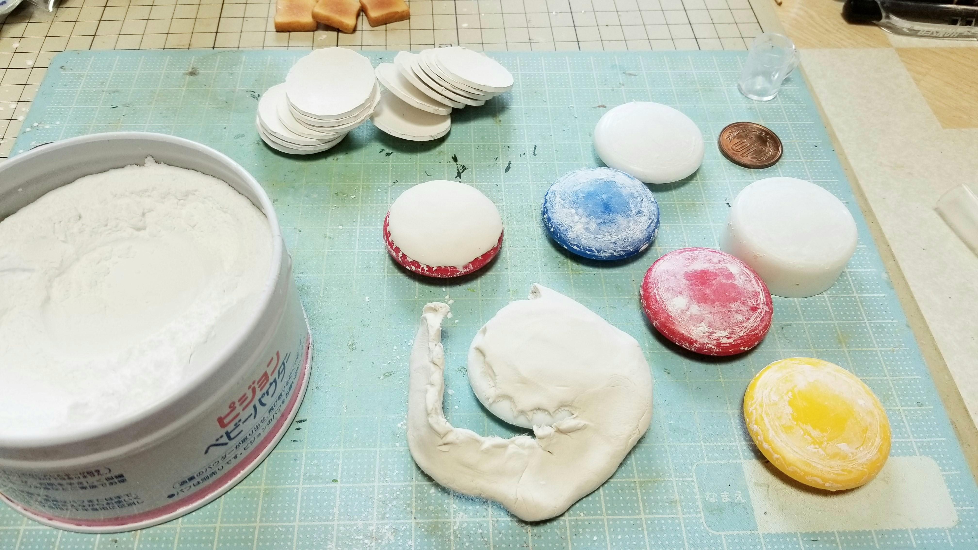 ミニチュアフード粘土丸食器お皿の作り方おすすめハンドメイドブログ