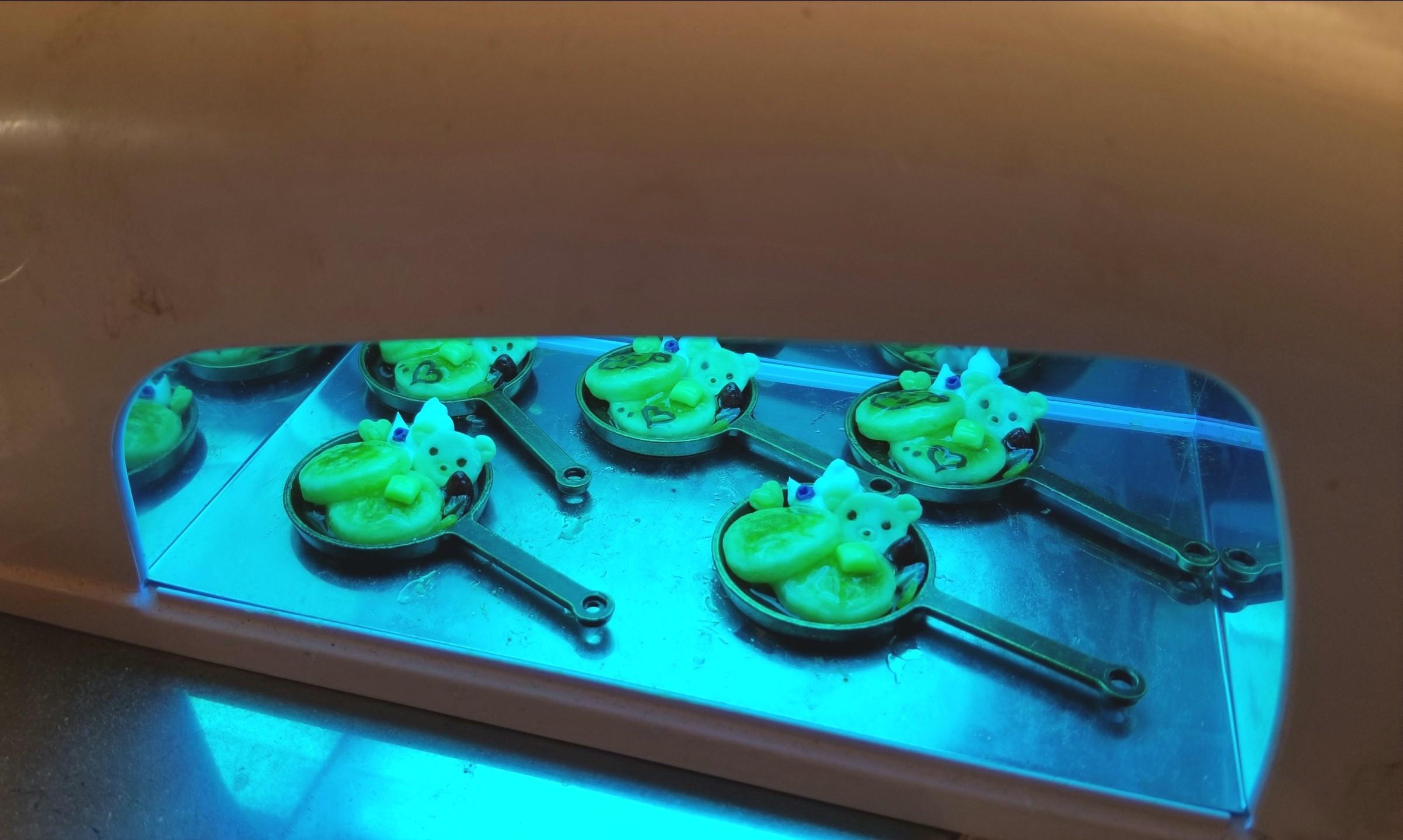 ミニチュア,クマちゃんホットケーキの作り方,ドールハウス,食品