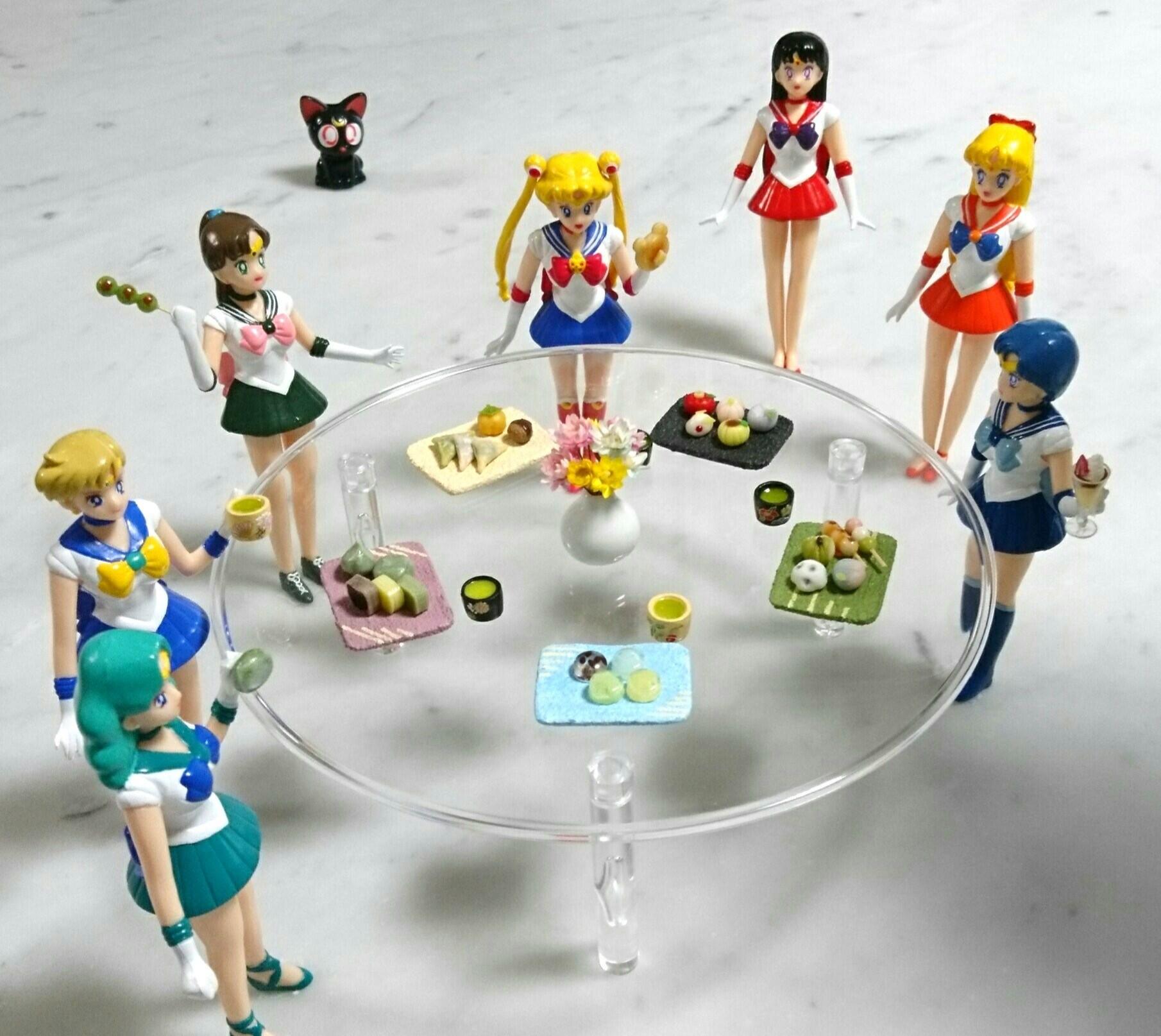 セーラームーン,人形,ドール,ミニチュアフード,猫,キャラクター
