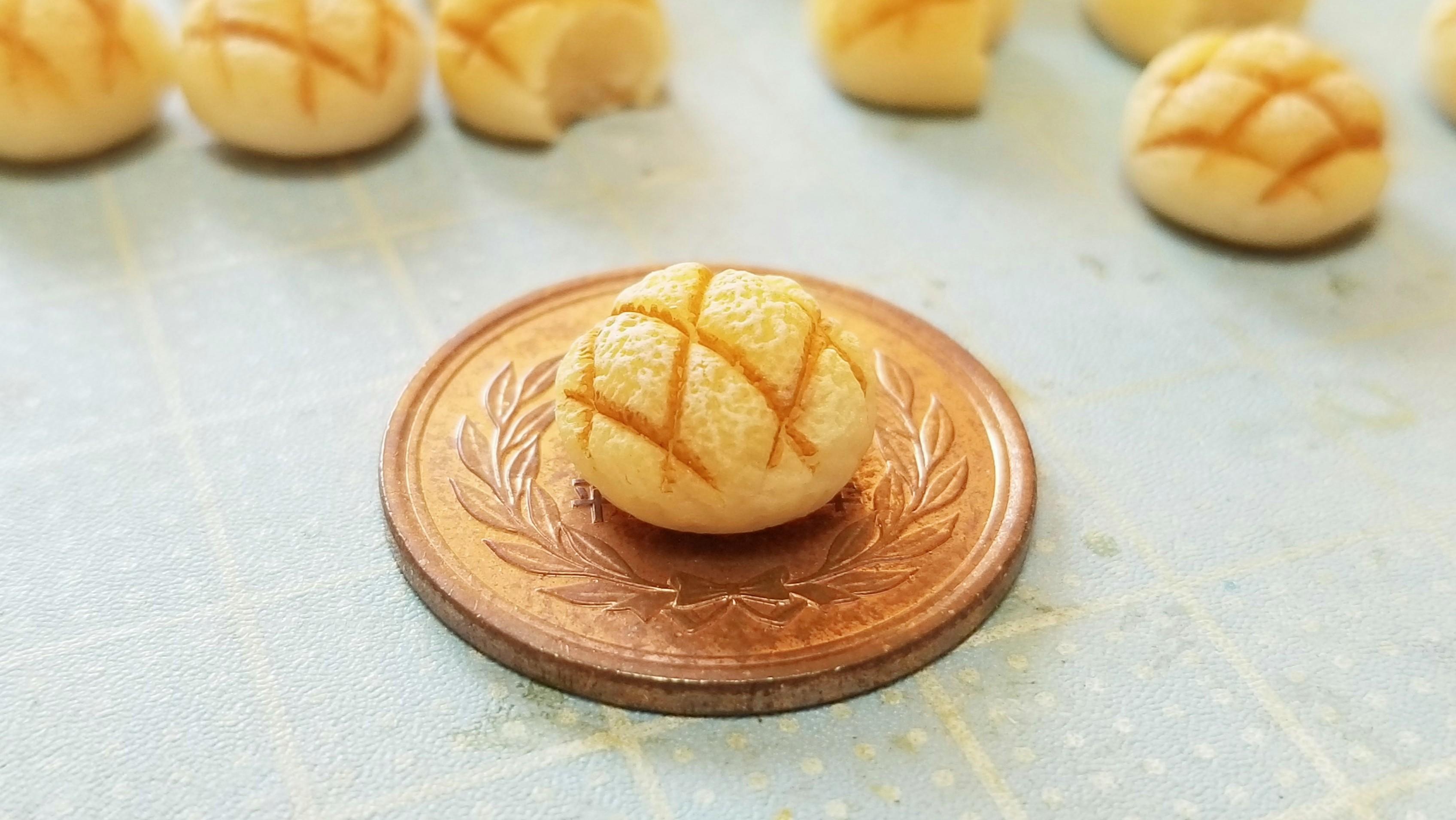 かわいい不思議小さな世界リアルかな本物みたい?美味しそうパン