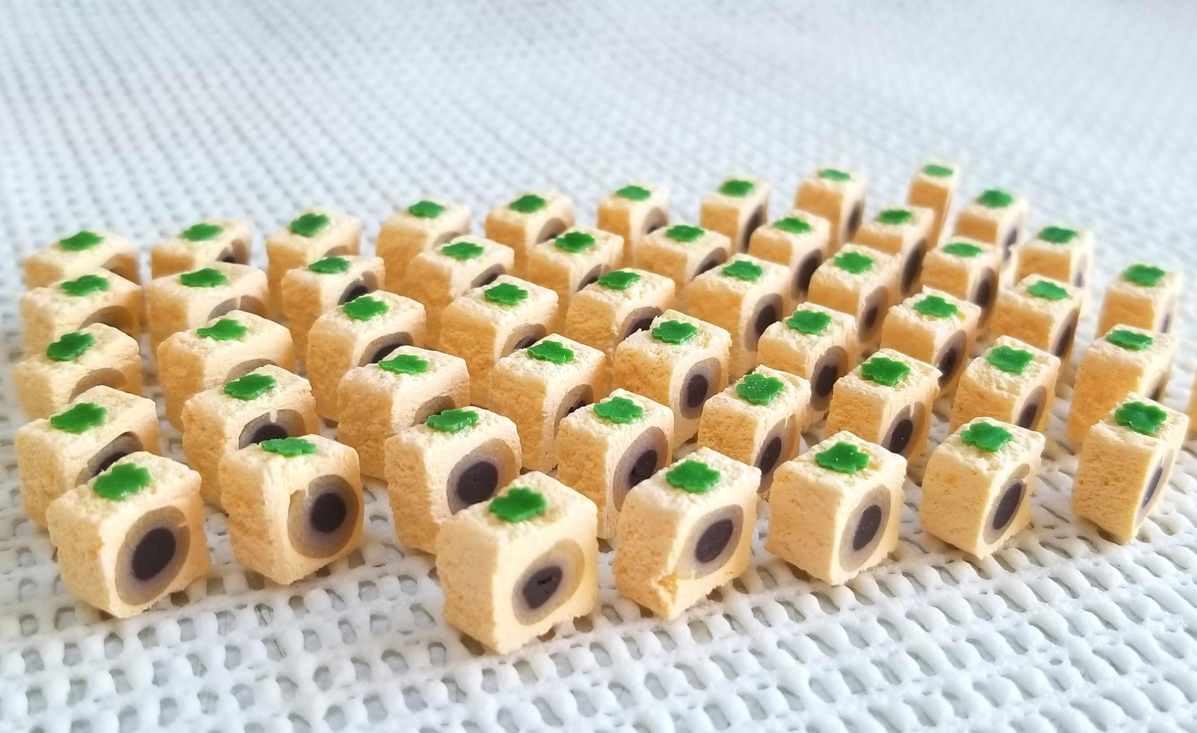 ミニチュアフード,和菓子,柿菓子,樹脂粘土,フェイクフード,ドール