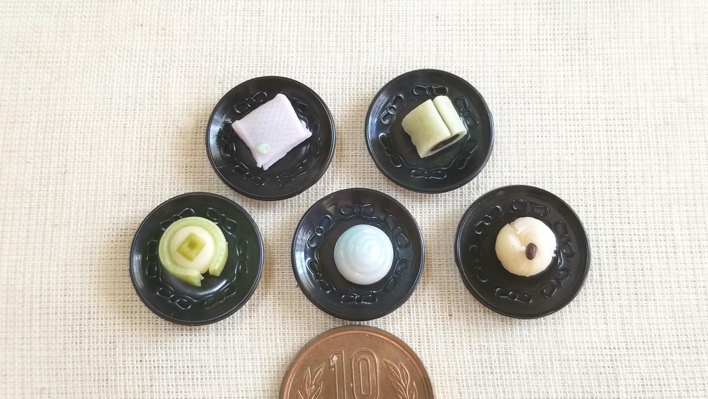 小さな和菓子,可愛い,粘土,四季,季節,上品,甘さ控えめ,食品サンプル