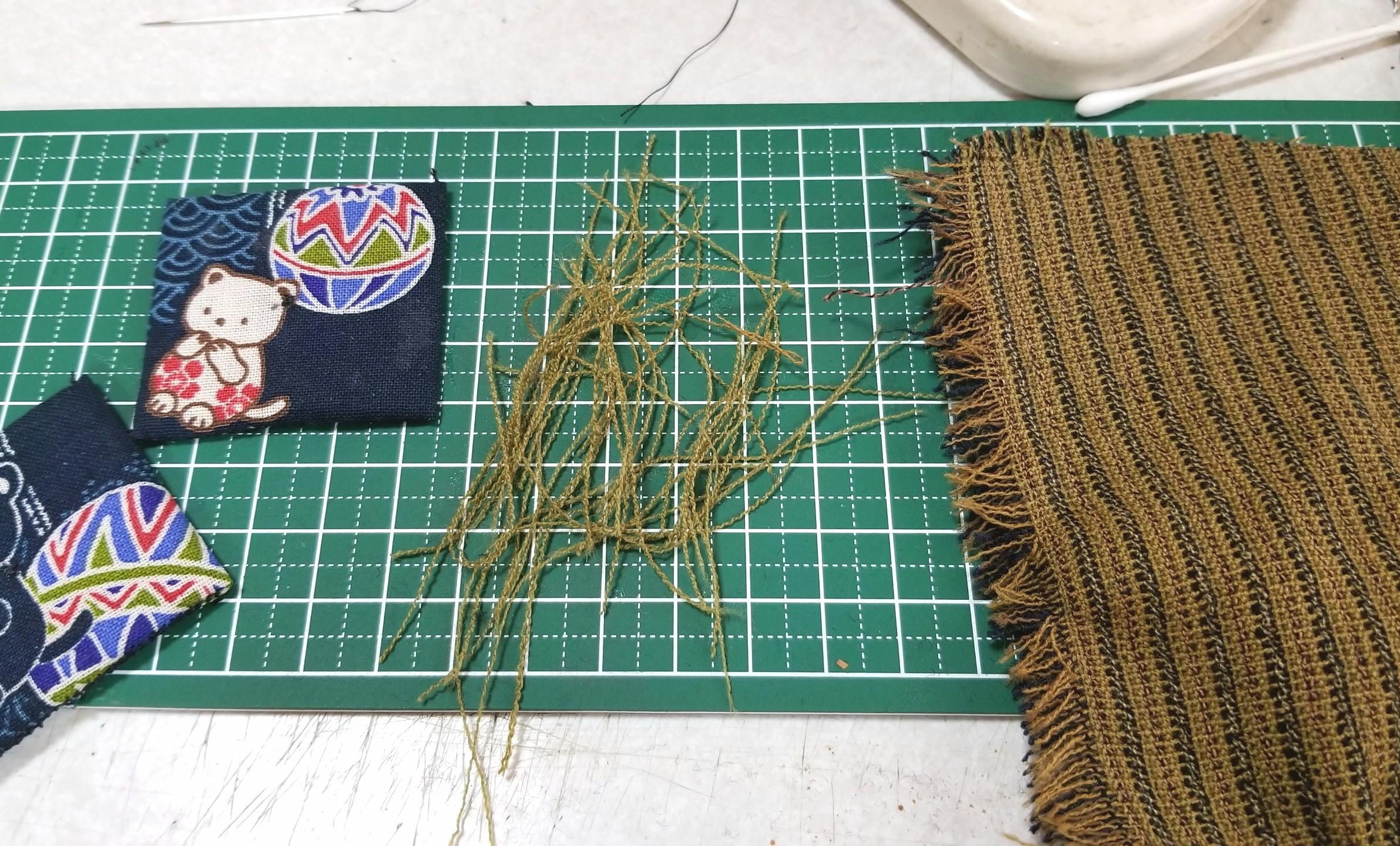ミニチュアフード,座布団,作り方,縫い方,和菓子屋,布,食品サンプル