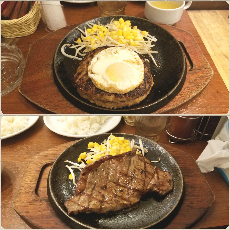 秋葉原でランチ,グルメ,鉄板ステーキ,ハンバーグ,美味しい,東京観光