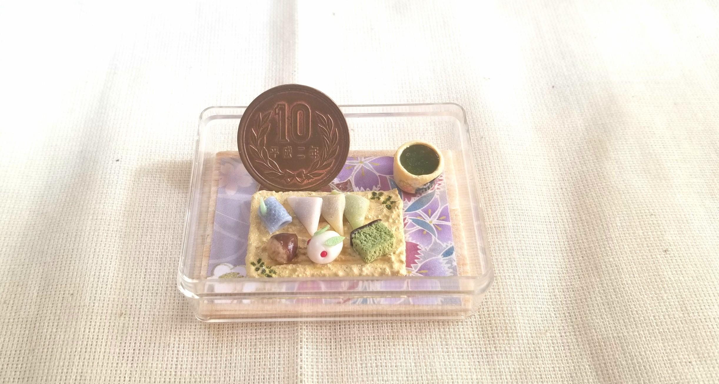 八つ橋,和菓子,ミニチュアフード,まんじゅう,ねんどろいど,オビツ11