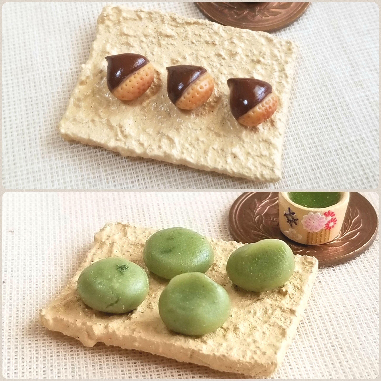 季節の和菓子,四季,美味しく食べれる,土産に,おやつの時間,樹脂粘土