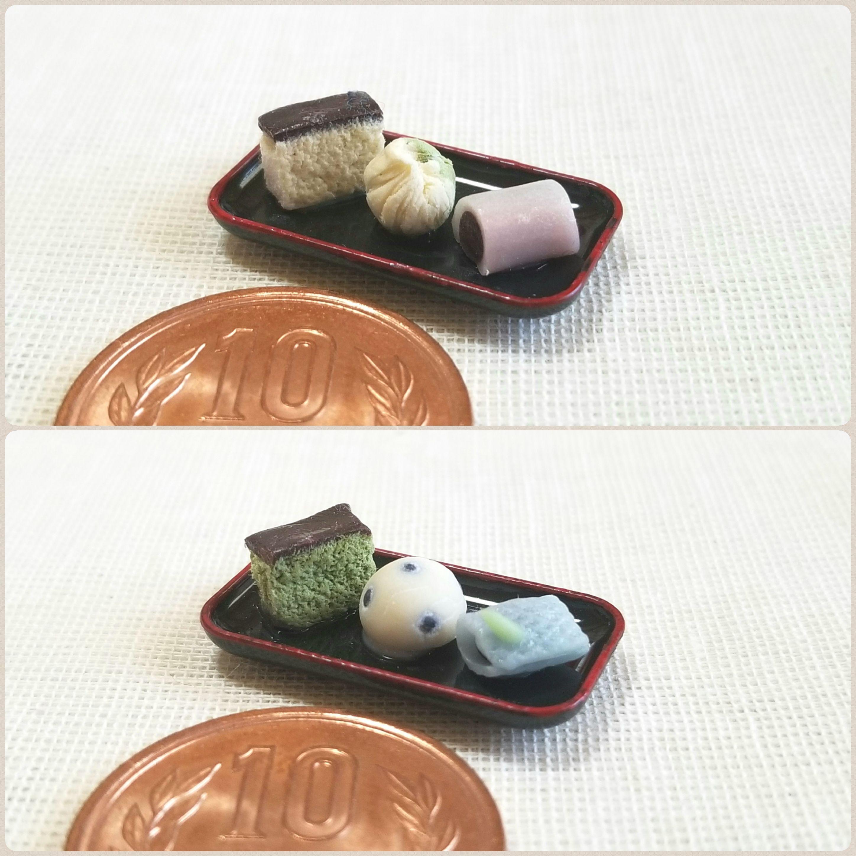 美味しい和菓子3点セット,盛りだくさん,カステラ,大好き,そっくり